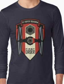 The First Order Fighter Squadron Long Sleeve T-Shirt