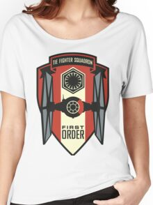 The First Order Fighter Squadron Women's Relaxed Fit T-Shirt