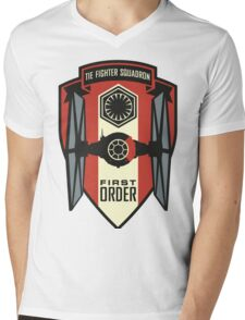 The First Order Fighter Squadron Mens V-Neck T-Shirt