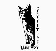Cattitude Adjustment Unisex T-Shirt