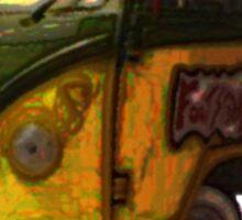 turtle grunge 2 Sticker