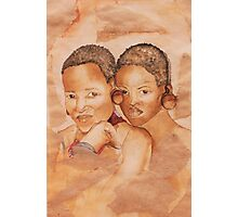 Zulu Girls Photographic Print