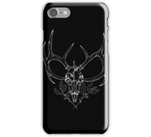'Winters Passed' Inverted Ink Drawing iPhone Case/Skin