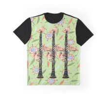 Clarinet Rhapsody  Graphic T-Shirt