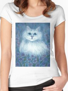 Bluekey Women's Fitted Scoop T-Shirt