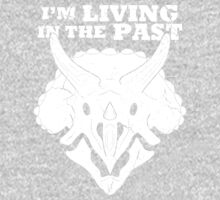 Living in the Past with Triceratops One Piece - Long Sleeve