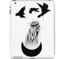 'The Priestess' Ink Drawing iPad Case/Skin