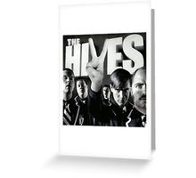 The black and white album Greeting Card