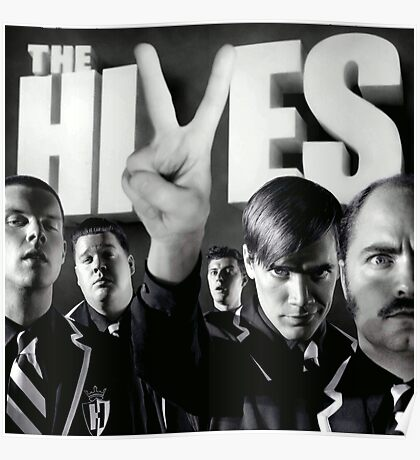 The black and white album Poster