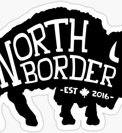 North Border Apparel (Buffalo Logo) Sticker