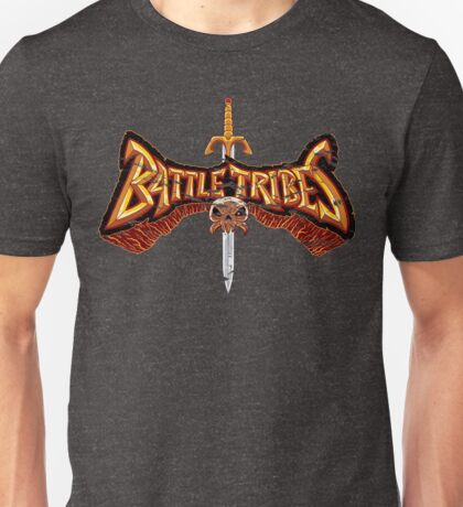 Battle Tribes Sword Logo (Distressed) T-Shirt