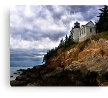 Bass Harbor Lighthouse- Acadia National Park, Maine Canvas Print