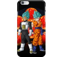 Dragon Ball Z - Goku and Vegeta SSJ God iPhone Case/Skin