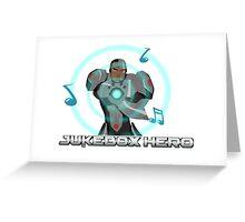 Jukebox Hero! Greeting Card