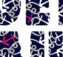 Lilly Pulitzer Get Nauti Sticker