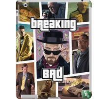 Breaking Bad / Grand Theft Auto Crossover (Clear Frame) iPad Case/Skin