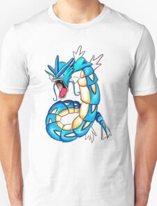 Gyarados watercolor Unisex T-Shirt