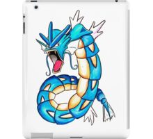 Gyarados watercolor iPad Case/Skin