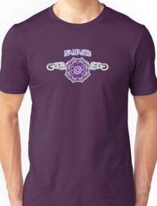 Namaste Yoga and Mandala Scroll Unisex T-Shirt