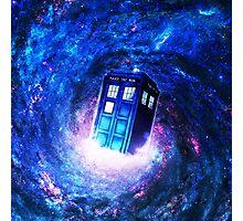 Tardis Doctor Who Vortex Photographic Print