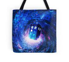 Tardis Doctor Who Vortex Tote Bag