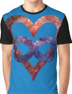 Space Love [Tarantula Nebula] | Polyamory Logo 2.0 | Team Poly Official Shirt Graphic T-Shirt