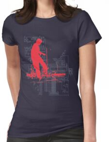 tech god Womens Fitted T-Shirt