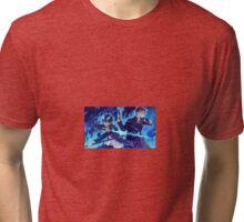 Blue exorcist  Tri-blend T-Shirt