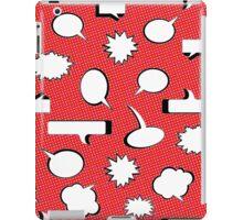 Comic Book Pow - Red iPad Case/Skin