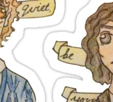 Be Quiet Yourself, Remus! Sticker