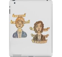 Be Quiet Yourself, Remus! iPad Case/Skin