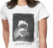 EraserFrog Womens Fitted T-Shirt