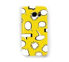 Comic Book Pow - Yellow Samsung Galaxy Case/Skin