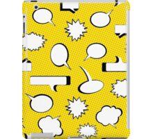 Comic Book Pow - Yellow iPad Case/Skin