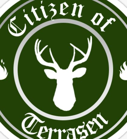 Citizen of Terrasen Sticker