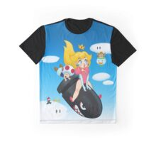 Peach's World Graphic T-Shirt