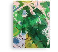 Secret Springtime Maps # 2 Canvas Print