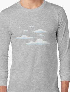 The Simpsons Clouds Long Sleeve T-Shirt