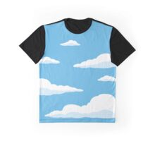 The Simpsons Clouds Graphic T-Shirt