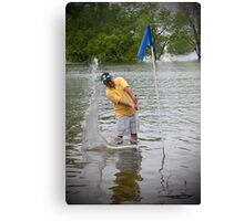 It Rained A Little Today Canvas Print