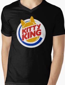 Kitty King Mens V-Neck T-Shirt