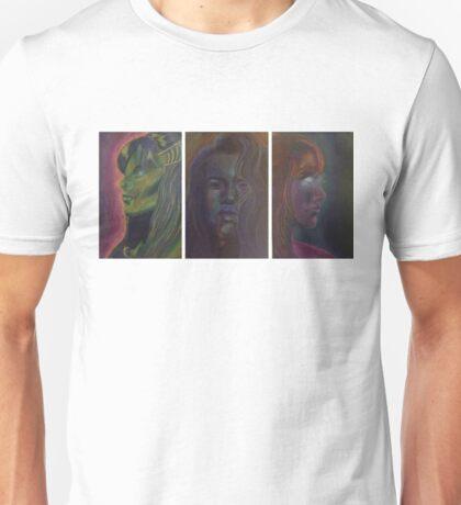 Reflection. Surprise. Terror.  Unisex T-Shirt