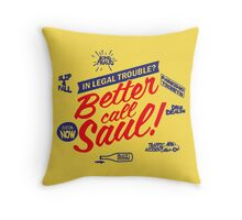 Better call saul Throw Pillow