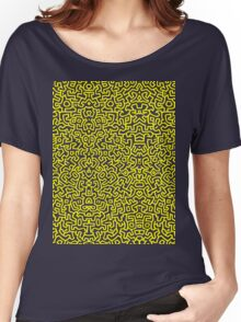 Keith Wall Yellow - Select Your Colour Women's Relaxed Fit T-Shirt