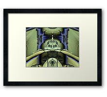 Spice Worms of Arrakis Framed Print