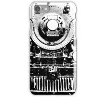 Vintage steam train illustration iPhone Case/Skin