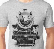 Vintage steam train illustration Unisex T-Shirt