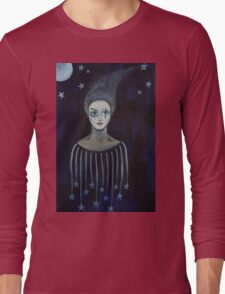 Clown Blanc Long Sleeve T-Shirt