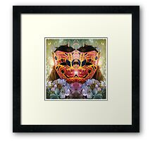 Self Portrait Series: Spring Mask No. 11 image 1 Framed Print
