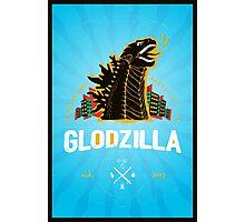 The Glodzilla Poster Photographic Print